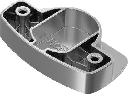 Adapter für Topfscharnier, Zinkdruckguss