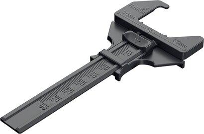 Positionierhilfe (Scharnier), Montageplatte, Kunststoff