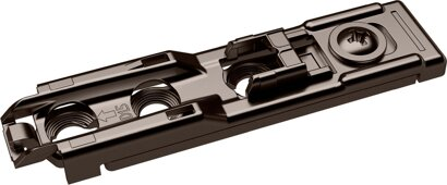 Linear-Montageplatte Sensys, Stahl