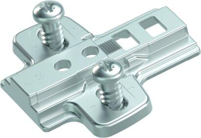 Adapterplatte für Paralleladapter, Zinkdruckguss
