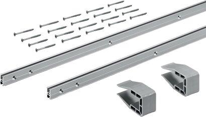Laufprofil-Set SlideLine M, Aluminium