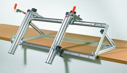 Montagehilfe für Schubkästen InnoFit Pro, Stahl/Aluminium