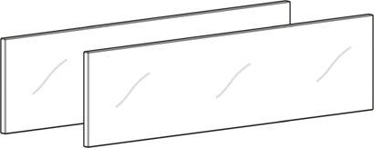 Glaseinsatz für Zarge AvanTech YOU Inlay