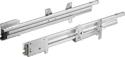 Auszugsführung (Schreibtischcontainer) Quadro Duplex 25, Stahl