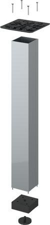 Tischbeinset LegaDrive, Aluminium