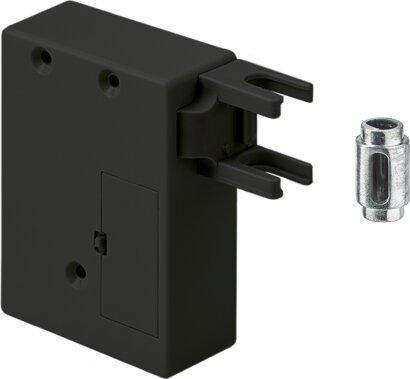 Hettlock RFID Fallenschloss mit vormontiertem Drehstangenblockierer
