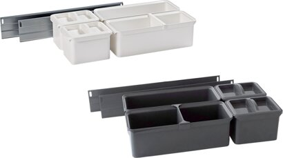 Vorratsdosen-Set, Orgabox, Kunststoff