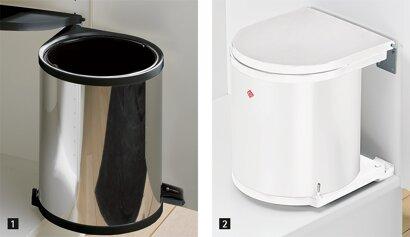 Abfallsystem Bin.it Classic, mit Eimer, Kunststoff