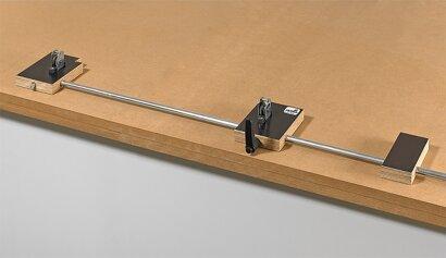 Montagehilfe für Schubkästen ArciFit 100, Stahl, Multiplex