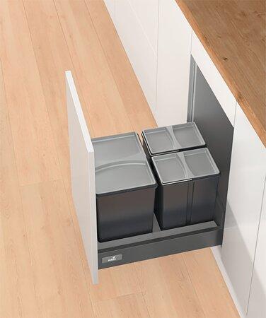 Abfallsystem Bin.it Smart 450/500, Kunststoff