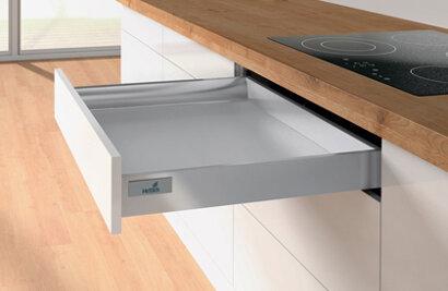 Schubkastenset InnoTech Atira, 54 mm, für Herdunterbau, Stahl