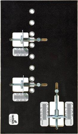 Lehre für Blendenbefestigung Practica 200, Aluminium