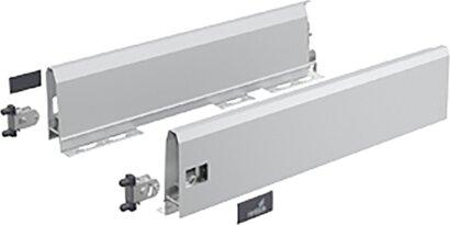 Schubkastenzarge ArciTech Flexible Sets, 126 mm, Stahl