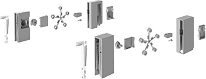 Designelementadapter InnoTech Atira DesignSide, Kunststoff