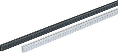 Lauf- und Führungsprofil SlideLine 56, Aluminium
