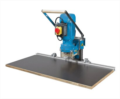 Bohr- und Einpressautomat BlueMax Mini Typ 2/6