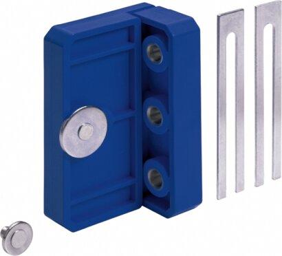 Ankörnlehre BlueJig (Verbindungsbeschlag), Kunststoff/Stahl