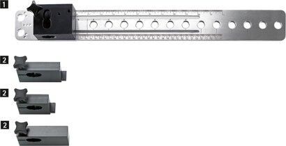 Bohrkörper Accura (tiefenverstellbar), Aluminium/Kunststoff