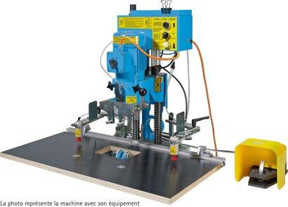 Bohr- und Einpressautomat BlueMax Mini Modular