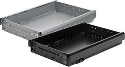 Stahlschubkasten (Schreibtischcontainer) Systema Top 2000, Stahl
