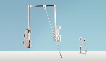 Distanzstück, Duo Lift 15, Kunststoff/Stahl