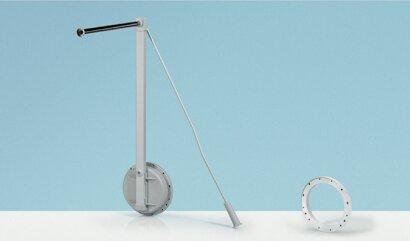 Kleiderlift, Single Lift 12, RS, Kunststoff/Stahl
