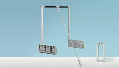 Kleiderlift, Duo Lift 10, Kunststoff/Stahl