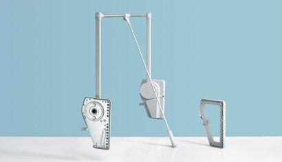 Distanzstück, Duo Lift 18, Kunststoff/Stahl
