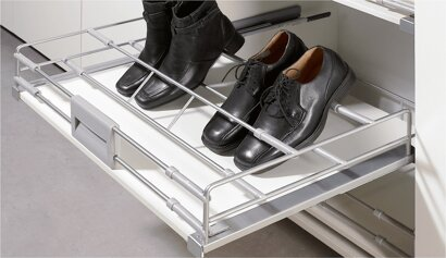 Schuhauszug (Kleiderschrank) Amari, Stahl
