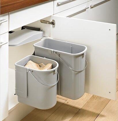 Abfallsystem Bin.it Classic, mit 2 Eimer, Kunststoff