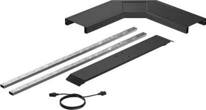 Elektro-Tischgestellergänzungsset LegaDrive, Stahl