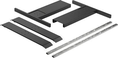 Elektro-Tischgestell-Modul LegaDrive Basic, Stahl
