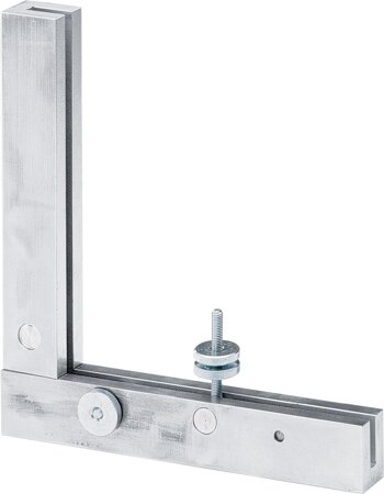 Winkelanschlag Practica, Aluminium
