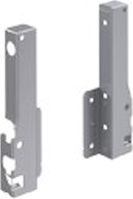 Rückwandverbinder InnoTech, 144 mm, ALU/Holz
