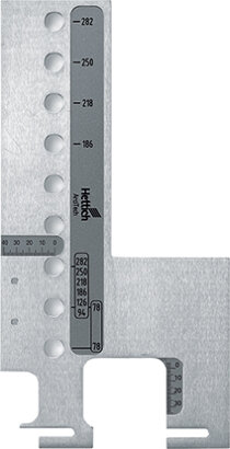 Lehre für Blendenbefestigung Practica, Aluminium