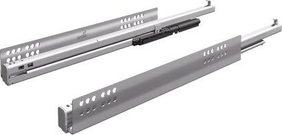 Unterflur-Vollauszug Quadro V6+, Silent System, für InnoTech, 50 kg, Stahl