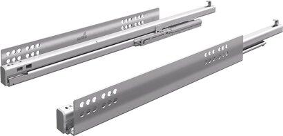 Unterflur-Vollauszug Quadro V6+, Push to open, für InnoTech, 50 kg, Stahl