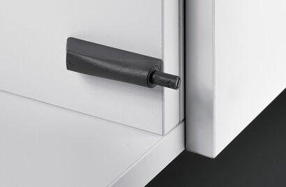 Dämpfer für Topfscharniere Push to open Magnet, Kunststoff