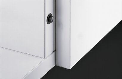 Dämpfer für Topfscharniere Push to open Lock, Kunststoff