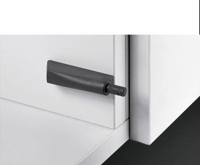 Dämpfer für Topfscharniere Push to open Pin Strong, Kunststoff
