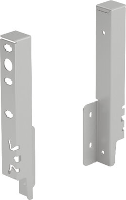 Rückwandverbinder ArciTech, 186 mm, ALU/Holz