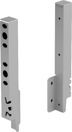 Rückwandverbinder ArciTech, 218 mm, ALU/Holz (NIK)