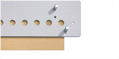Bohrlehre (System 32) Accura, Aluminium