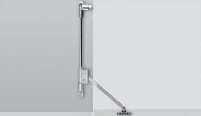 Klappenhalter Klassik D, mit Magnet-Zuhaltung, Stahl, Zinkdruckguss