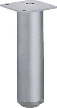 Möbelfuß Lano RO, Aluminium