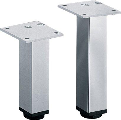 Möbelfuß Lano SQ 30, Aluminium