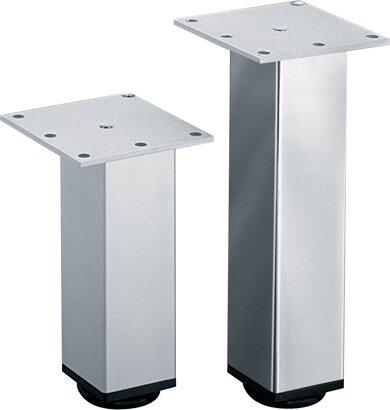 Möbelfuß Lano SQ, Aluminium