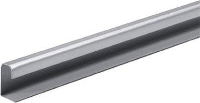 Türleiste, TopLine M, gelocht, Aluminium