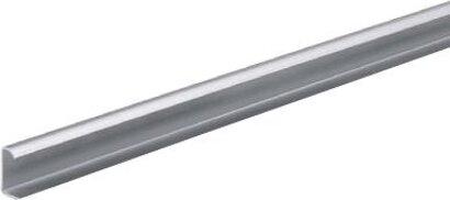 Türleiste TopLine M, für Korpusanschlüsse, für hintere Tür, Aluminium