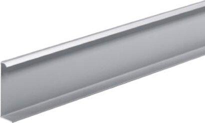 Türleiste TopLine M, für Korpusanschlüsse, für vorliegende Tür, Aluminium